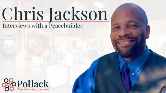 PPS Welcomes Peacebuilder Chris Jackson